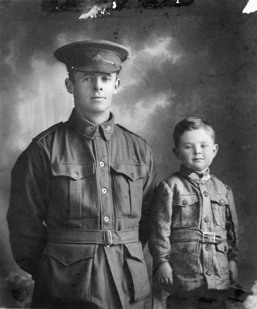 father-and-son-1916